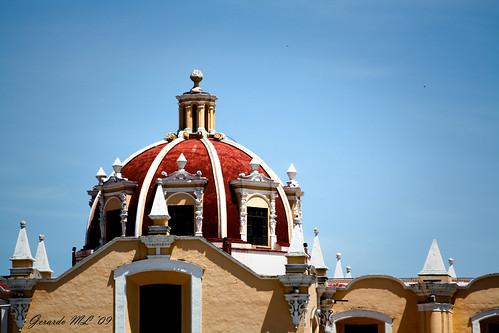 Beautiful sky in Cholula - Puebla