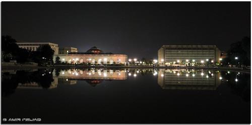 reflection water night canon eos washingtondc amazing capitolhill