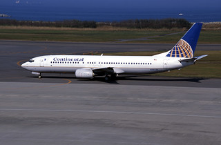 CONTINENTAL AIRLINES B737-824 (N35236/28801/367)