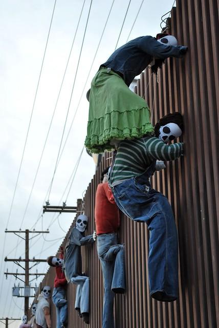 """US-Mexico Border day of the dead 2 """"Dia del muerto"""""""