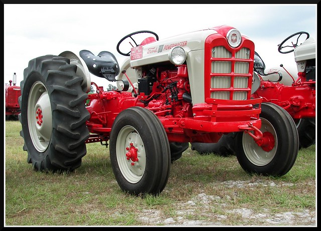 Ford 901 Powermaster Tractor : Ford powermaster diesel tractor for sale