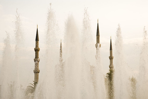 Blue Mosque and Fountains.