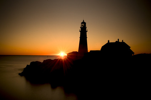 ocean light lighthouse sunrise portland head maine top20longexposure colorphotoaward luxtop100 mygearandmepremium