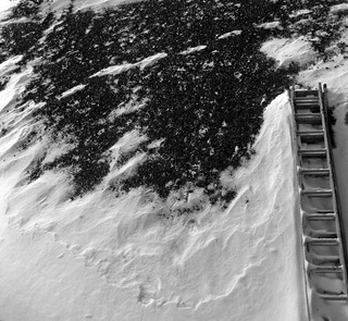 Stairs over Snow