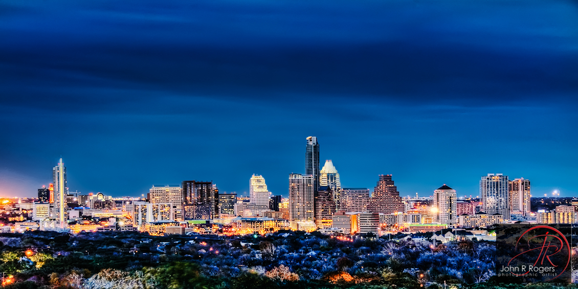 The Ever Changing Austin Skyline