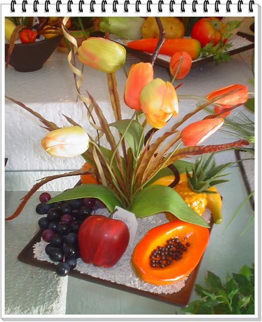 Arreglo de frutas flickr photo sharing - Frutas artificiales para decoracion ...