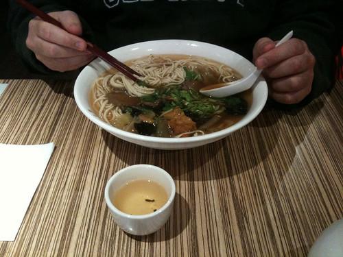 massive Beef Noodle Soup $8.50