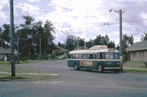 1966 Perth Trolley Bus
