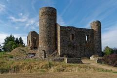 Loire - Château des Cornes d'Urfé à Champoly
