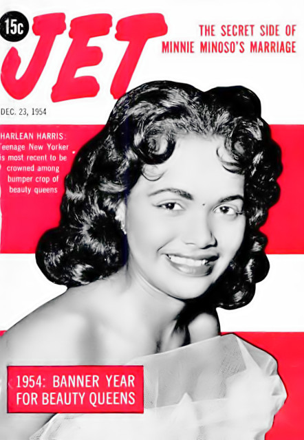 Meet Harlean Harris, Beauty Queen (and future Mrs Jackie Wilson) - Jet Magazine, December 23, 1954