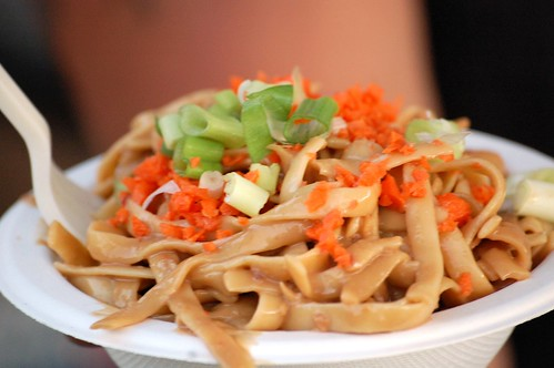Vegan Noodles with Peanut Sauce