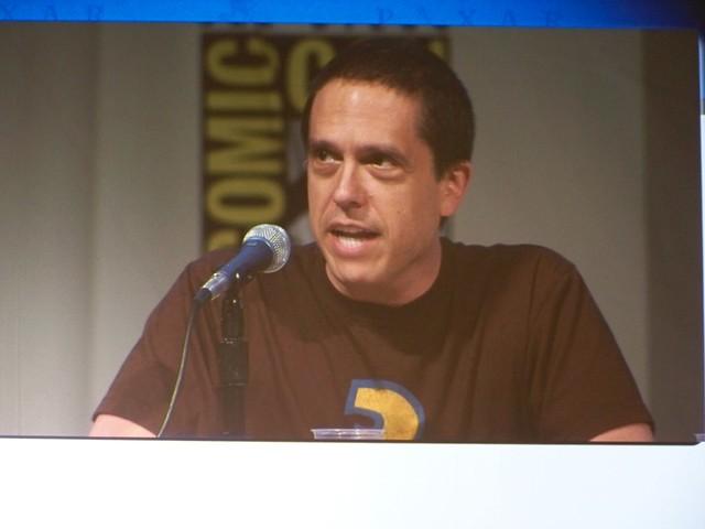 Lee Unkrich on the Walt Disney/Pixar Animation Studios Presentation at San Diego Comic-Con International