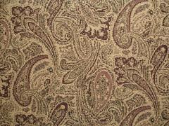 tapestry(0.0), floor(0.0), drawing(0.0), flooring(0.0), art(1.0), pattern(1.0), textile(1.0), brown(1.0), design(1.0), wallpaper(1.0), paisley(1.0),