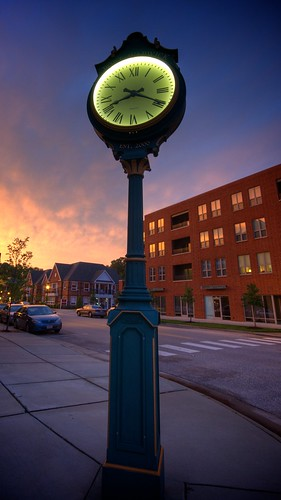 sunset clock virginia nikon time sigma va bluehour 1020 hdr newportnews d90 portwarwick 365outtake