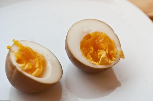 Tea-Smoked Eggs (Interior)