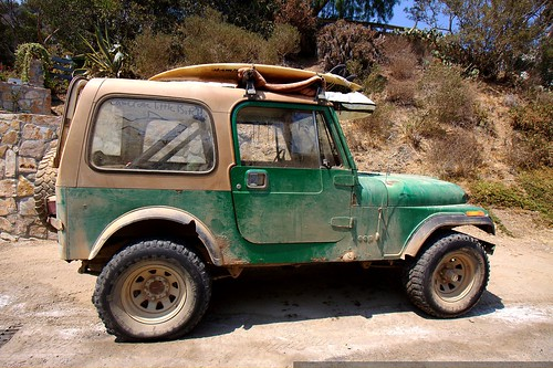 green jeep on catalina island    MG 2126