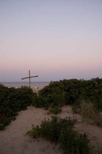 Jesus on the Beach.