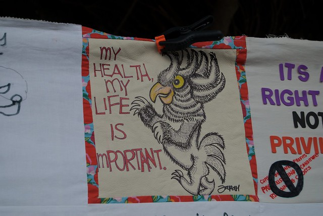 my health my life is important   messages to senator