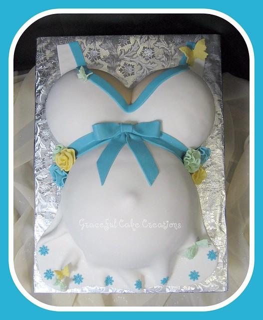 Belly Cake Baby Shower By Dani Hurricane