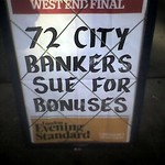 72 City Bankers Sue For Bonuses