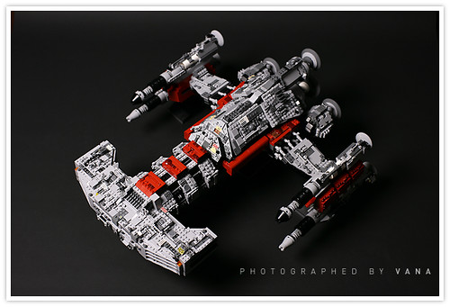 Starcraft 2 Lego Battlecruiser