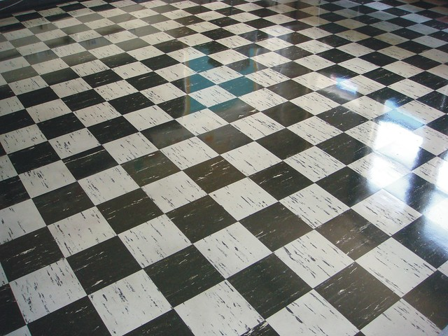 Vintage Asbestos 9 X9 Floor Tile Checker Pattern Flickr Phot
