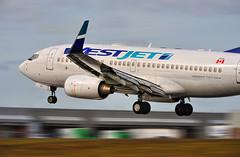 West Jet Boeing 737-700