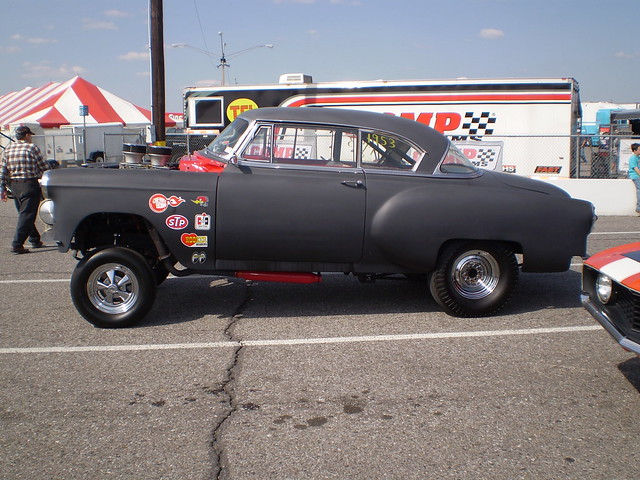 57 Chevy Gasser For Sale http://www.flickr.com/photos/chevyssking/4134971666/