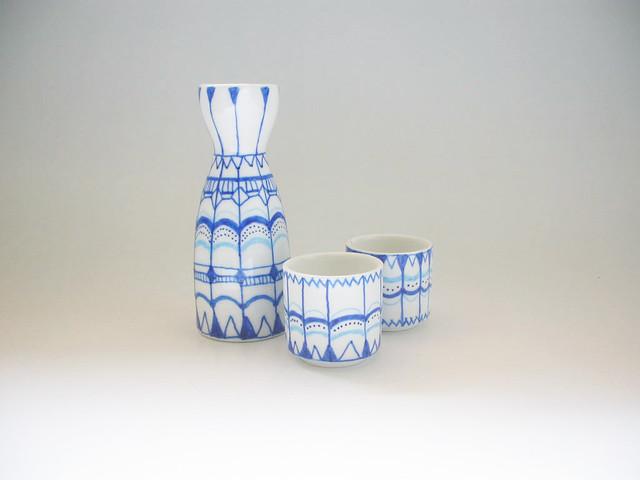 kit sake azul