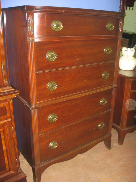 Sold Huntley Furniture Medallion Highboy Flickr Photo