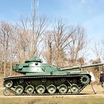 M-60 Series Army Tank, Garret Mountain, Woodland Park, New Jersey