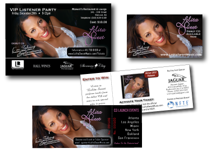 Lolita Sweet Event Marketing Collateral