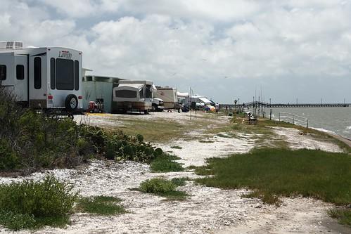 usa beach geotagged texas unitedstates lamar popup rv fulton campground camper fishingpier gooseislandstatepark geo:lat=2812497610 geo:lon=9698336232