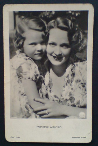 Marlene Dietrich Maria Riva