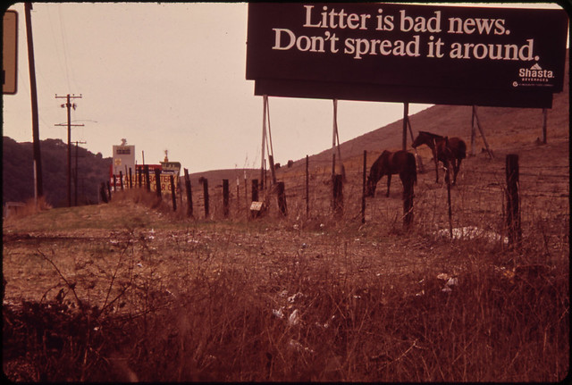 DOCUMERICA: Hunters Along Route 580, near San Francisco. 10/1972 Erik Calonius.