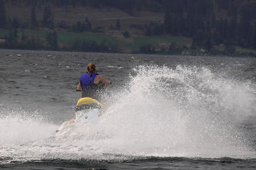 Fun on Okanagan Lake