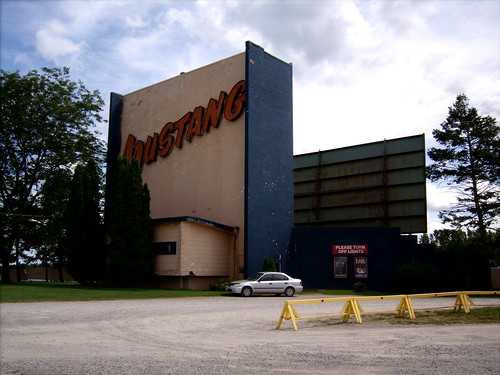 Mustang Drive-In Theater
