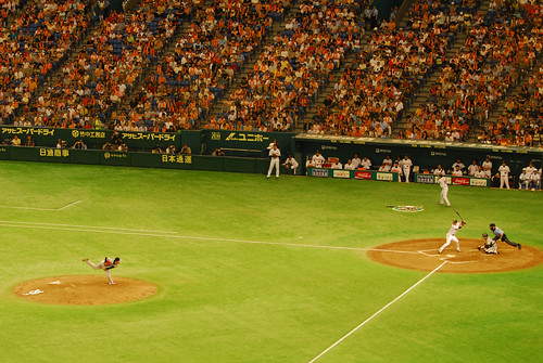 Baseball::Giants vs Hanshin @ Tokyo Dome Stadium