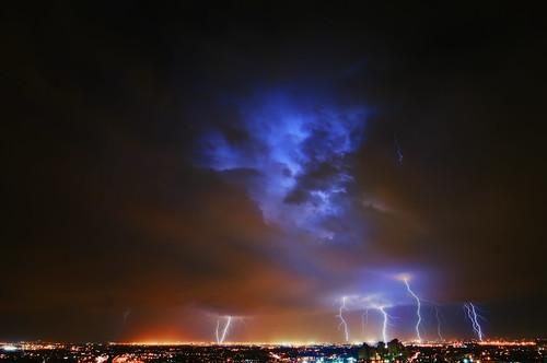 longexposure storm night geotagged newjersey jerseycity lightning newark thunder hdr mudpig stevekelley