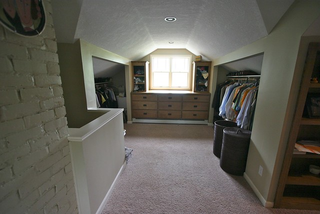 Flickr photo sharing for Attic remodel