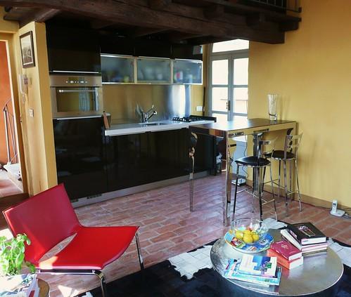 Arredare un soggiorno con angolo cottura detto fra noi - Arredare un soggiorno piccolo ...