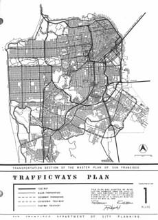 San Francisco Trafficways Plan (1955)