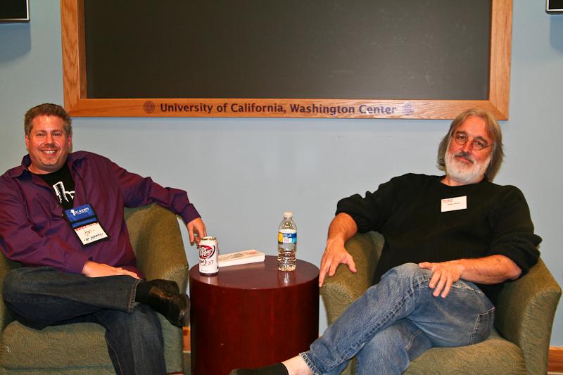 Jon Gann and Kelley Baker