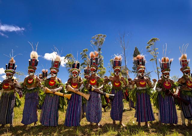 Mount Hagen Singsing, Papua New Guinea