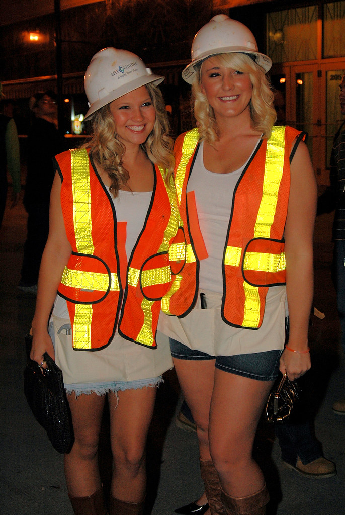 female construction workers crop  sc 1 st  The Halloween - aaasne & Construction Worker Halloween Costume Women - The Halloween