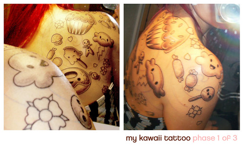 kawaii tattoo