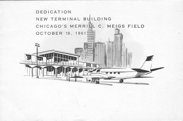 Meigs Field Dedication Invitation - 1961