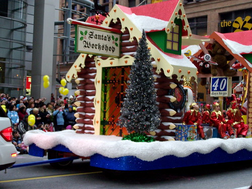 Brockton Christmas Parade and Holiday celebrations