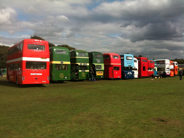 Nice selection of REAL buses!