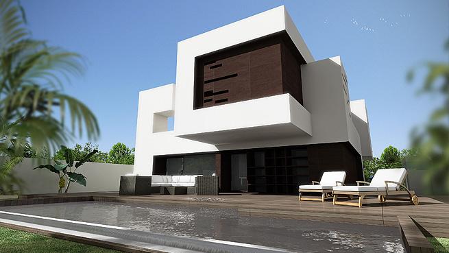 Vivienda unifamiliar bia arquitectos arquitectura - Viviendas unifamiliares modernas ...